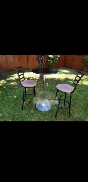 Bar table and stools for Sale in Arlington, WA