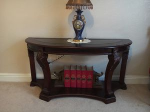 Elegant console table for Sale in Fresno, CA