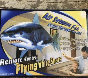 New Remote Control Shark Toys Air Swimming Fish Infrared RC Flying Air Balloons Nemo Clown Fish Kids Toys Gifts Party Decoration Toy for Sale in Richardson, TX