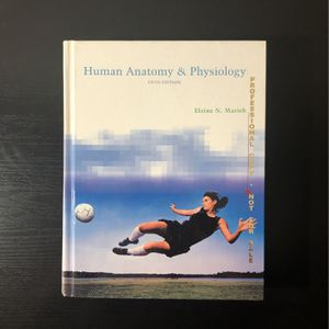 Human Anatomy & Physiology Textbook for Sale in Westminster, CA