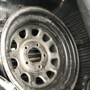5 Lug 15 Inch Steel Wheels OBO for Sale in Walnut Creek, CA