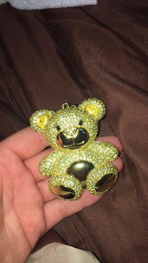 king ice 14k played teddy bear charm & bracelet. need gone asap for Sale in Columbus, OH