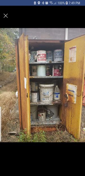 2 flammable cabinets for Sale in Severn, MD