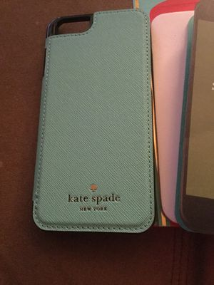 Brand new in box Kate Spade folio case -paid $75; selling for $40 for iPhone 6, 6s, 7 for Sale in Scottsdale, AZ