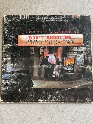 Elton John - Don't Shoot Me I'm The Piano Player Vinyl for Sale in San Marcos, CA