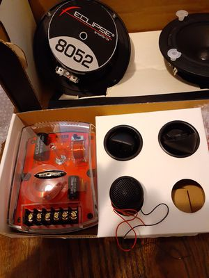 eclipse 5.25 component car speakers for Sale in Aurora, CO