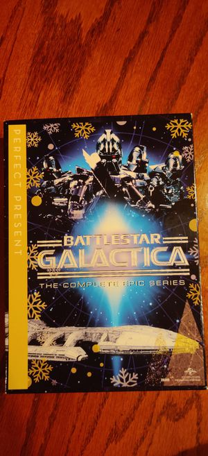 Battlestar Galactica the complete epic series. for Sale in Land O Lakes, FL