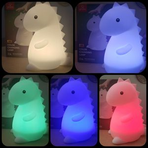 Silicone Tommy Dinosaur White LED Multi-Color Changing Integrated Rechargeable Light for Sale in Covina, CA