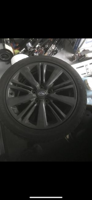 Oem Wrx wheels full set need tires 250$ for Sale in Miramar, FL