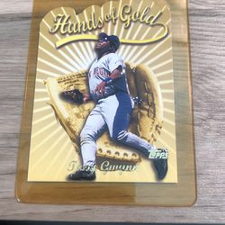 Tony Gwynn Unique Raised Lettering Topps Baseball Card for Sale in Aurora,  CO
