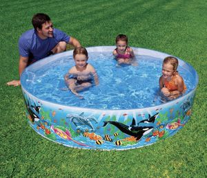 New intex 8ft x 18 inches deep snapset family pool. Pick up in Surprise, West valley. for Sale in Surprise, AZ