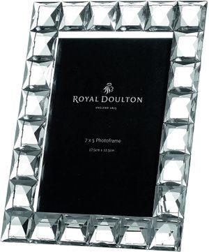 Royal Doulton Radiance Giftware Diamond Frame 5 x 7 for Sale in Salem, MA