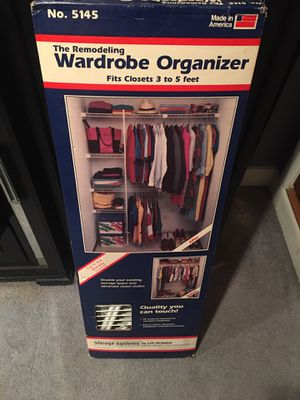 Closet organizer for Sale in Cranston, RI