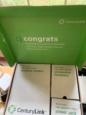 Centurylink DSL Modem for Sale in Vancouver, WA