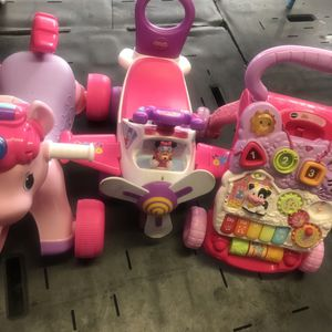 Bundle Baby Toddler Girl Toys Walkers for Sale in Hollywood, FL
