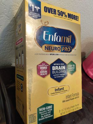Enfamil NeuroPro boxes 31.4 ounces $30 👶 Recoger en Vallejo for Sale in Vallejo, CA