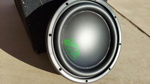 "12"" D2 subwoofer by Robot 🤖 with 3yr warranty 500 wrms / 1000 wmax for Sale in Mesa, AZ"