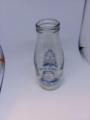 Glass Milk Bottle ~ Vintage for Sale in Santa Clara, CA