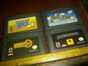Nintendo Game Boy advanced four-game lot for Sale in Chicago, IL