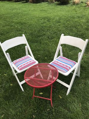Metal Table Wood Chairs for Sale in Richmond, KY