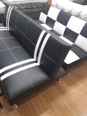 Leather futon for Sale in Ventura, CA