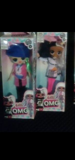 LOL OMG surprise dolls super cute 18.00 each 26.00 at walmart for Sale in Dallas, TX