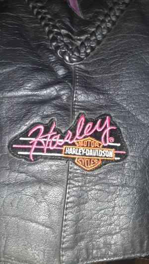 American Top genuine leather extra large Harley Davidson women's vest for Sale in Columbia Heights, MN