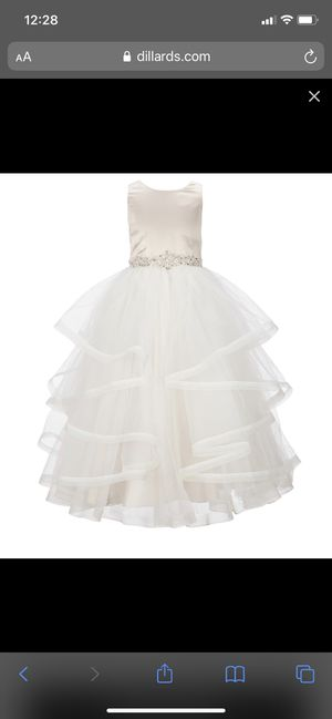 Chantilly Place Flower Girl Dress 12 for Sale in Richardson, TX