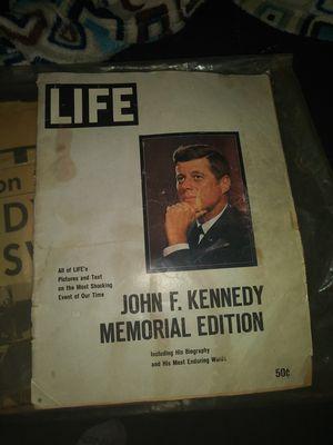 Life magazine. JFK Memorial Edition. for Sale in Phoenix, AZ