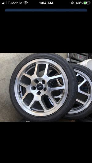 5x114.3 rims rines tires Yantas Ford Mustang gt500 for Sale in Los Angeles, CA