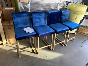 Noble House Bar Stools Suede for Sale in Los Angeles, CA
