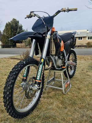 KTM 125-SX 2 Stroke Dirt Bike (02) for Sale in Liberty Lake, WA