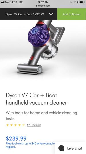 Dyson V7 for Sale in Yucaipa, CA