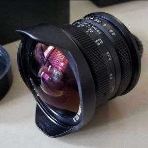 7artisans 7.5mm F2.8 Emount manual lens for Sale in Riverside, CA