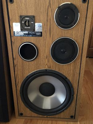 Dynamic audio pro 1901 speakers for Sale in Milton, MA