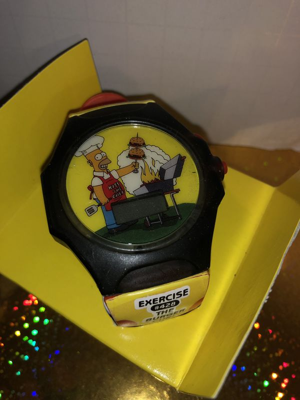 The Simpson Wrist Watch collective 2002