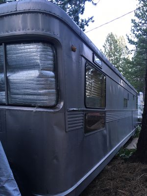 Aristocrat 1956 aluminum trailer for Sale in Truckee, CA