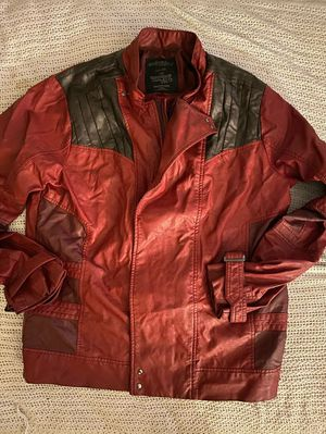 Marvel's Guardians Of The Galaxy Leather Jacket size Large for Sale in Milford, CT