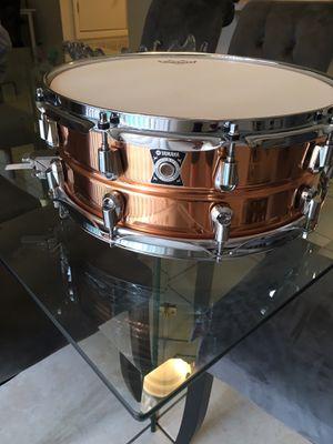 Yamaha Copper nouveau snare 14x5.5 for Sale in Orlando, FL