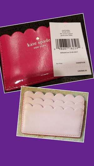 NWT NWT NEW KATE SPADE CARD HOLDER for Sale in Tacoma, WA