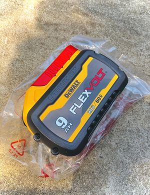 New DeWalt FLEXVOLT 9Ah Battery (Second Generation) for Sale in Modesto, CA