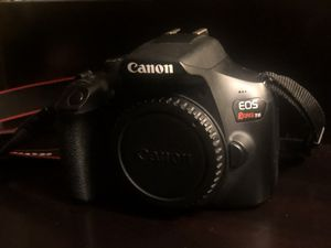 Canon EOS Rebel T6i DSLR with kit Lens for Sale in Cathedral City, CA