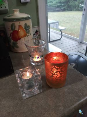 FREE CANDLE HOLDERS (4) for Sale in Greenville, MI