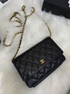 Chanel WOC Caviar skin with gold chain. for Sale in Westminster, CA