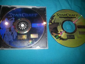 Star Craft and expansion computer game for Sale in Goodyear, AZ