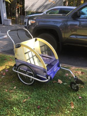 Burley bike trailer for Sale in Old Orchard Beach, ME