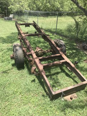 Truck frame for building a trailer for Sale in Del Valle, TX