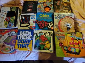 Various Kids Board Games/Activity Sets for Sale in Mansfield, TX