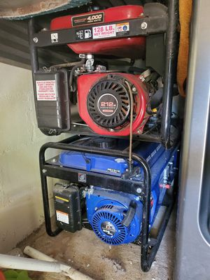 2 generator's for Sale in Eagle Lake, FL