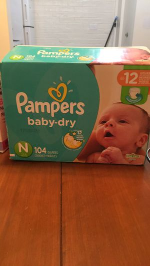 Newborn Pampers for Sale in West Chicago, IL